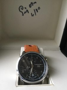 Sir Stirling Moss Watch