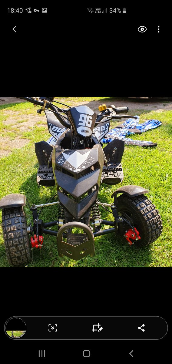 Kids 50cc Quad Bike For Sale (picture 2 of 4)