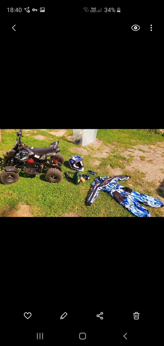 Kids 50cc Quad Bike For Sale (picture 4 of 4)