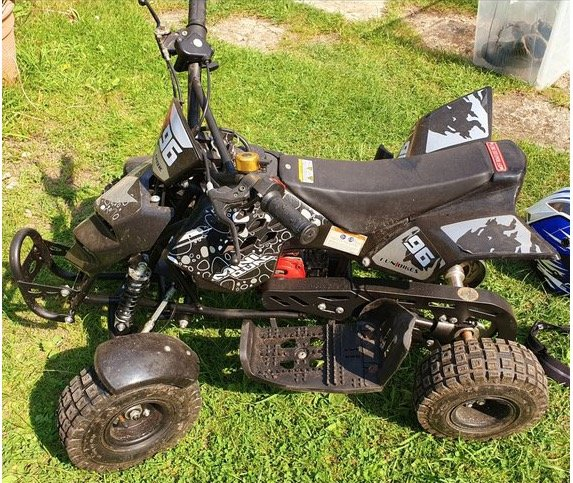 Kids 50cc Quad Bike For Sale (picture 1 of 4)