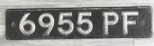 6955PF Private Registration Number For Sale