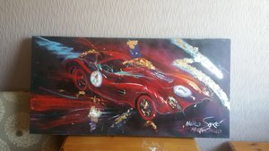 HEIKO SAXO paintings MONTE CARLO  swap for car