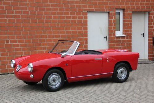 Abarth 750 Allemano Spider 1. Serie, 1958, 59.900,- Euro For Sale (picture 1 of 6)