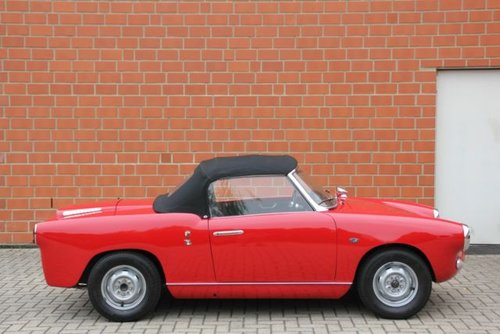 Abarth 750 Allemano Spider 1. Serie, 1958, 59.900,- Euro For Sale (picture 6 of 6)