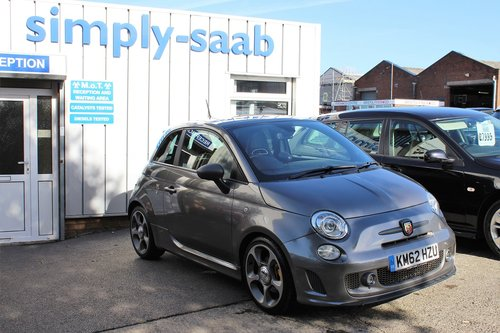 2012 A SPORTY Abarth 500, 1.4 T-Jet 160bhp SOLD (picture 1 of 6)
