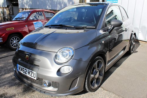 2012 A SPORTY Abarth 500, 1.4 T-Jet 160bhp SOLD (picture 3 of 6)