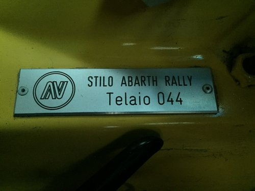 2006 FIAT Stilo Abarth ex-works - Sequential - 220HP For Sale (picture 4 of 6)