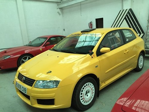 2006 FIAT Stilo Abarth ex-works - Sequential - 220HP For Sale (picture 5 of 6)