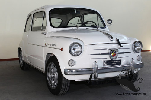 1963 Rare original Abarth 1000 TC (it is not a replica) For Sale (picture 1 of 6)