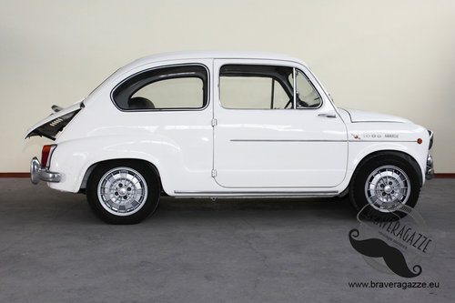 1963 Rare original Abarth 1000 TC (it is not a replica) For Sale (picture 2 of 6)