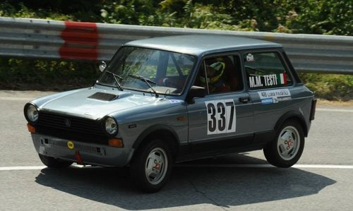 1979 Genuine Abarth A112 70HP trophy, completely restored For Sale (picture 2 of 5)