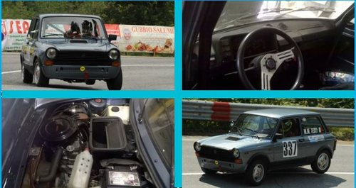 1979 Genuine Abarth A112 70HP trophy, completely restored For Sale (picture 5 of 5)