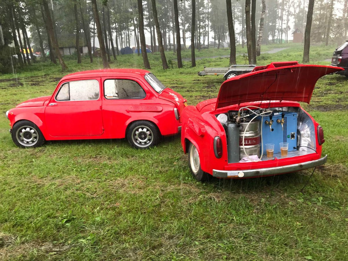 1968 FIAT 500copy Zaz 965 custom made from scratch For Sale (picture 1 of 6)