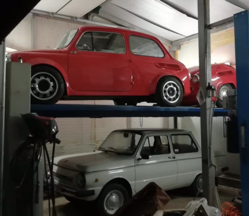 1968 FIAT 500copy Zaz 965 custom made 1962y. For Sale (picture 3 of 6)