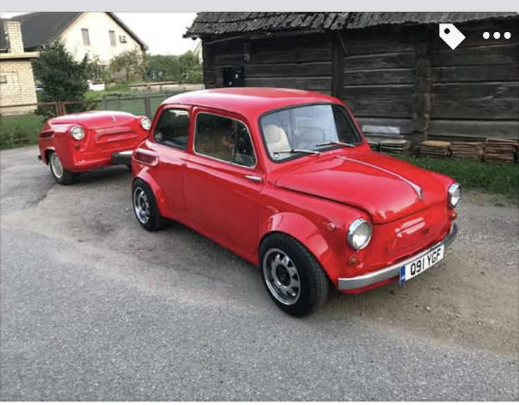 1968 FIAT 500copy Zaz 965 custom made from scratch For Sale (picture 6 of 6)