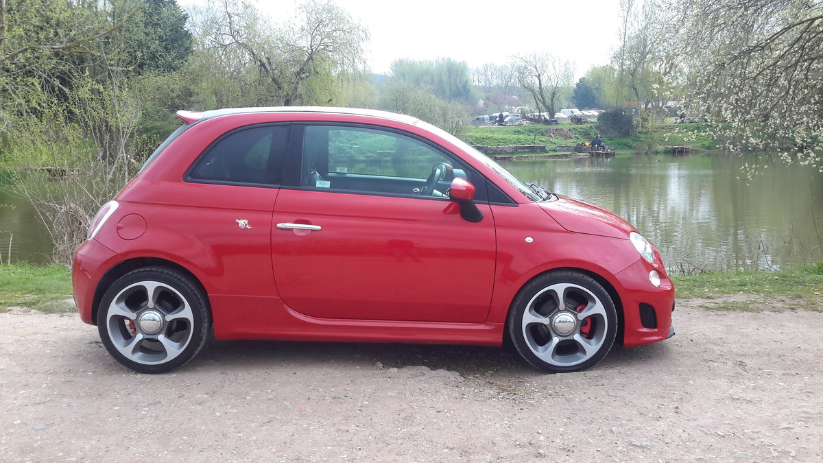2012 ABARTH 500C CONVERTIBLE 1.4 140 bhp 48000 MILES For Sale (picture 2 of 6)