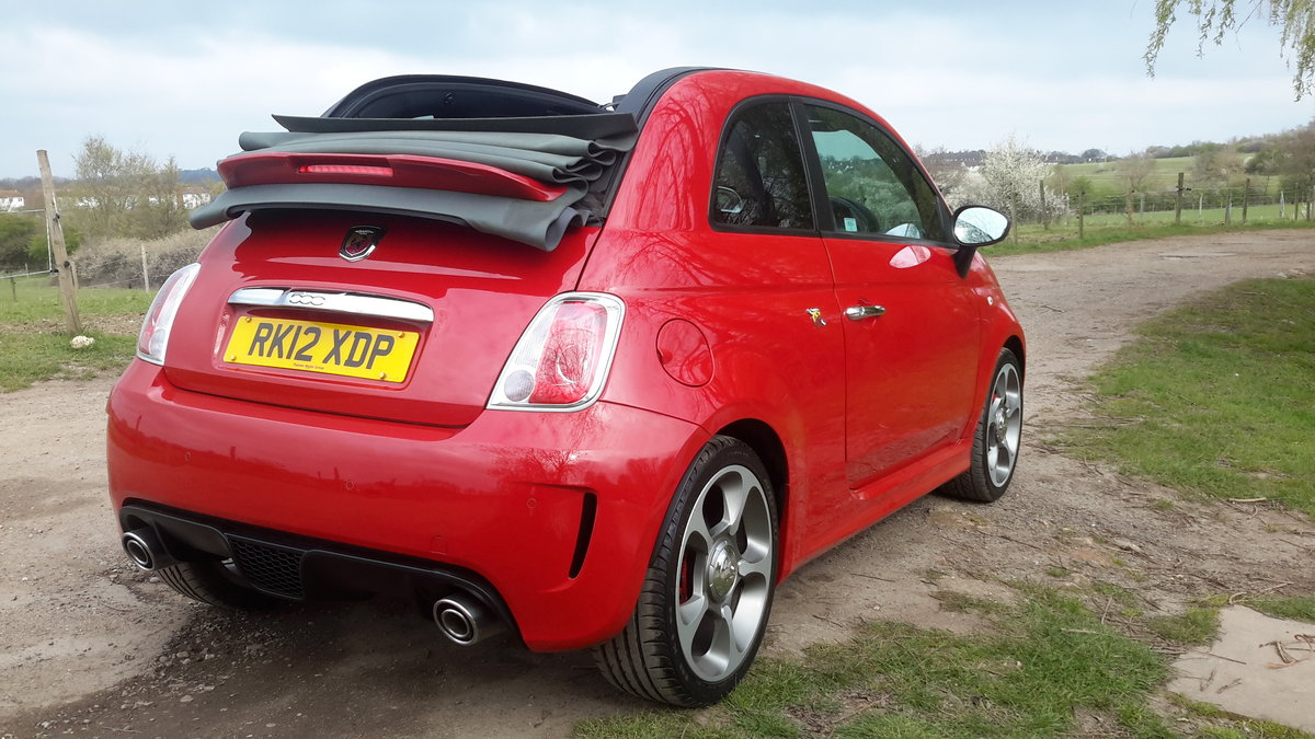 2012 ABARTH 500C CONVERTIBLE 1.4 140 bhp 48000 MILES For Sale (picture 3 of 6)