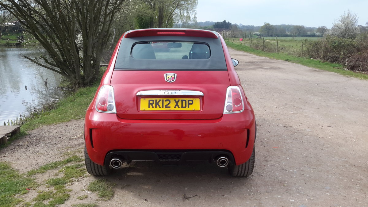 2012 ABARTH 500C CONVERTIBLE 1.4 140 bhp 48000 MILES For Sale (picture 6 of 6)