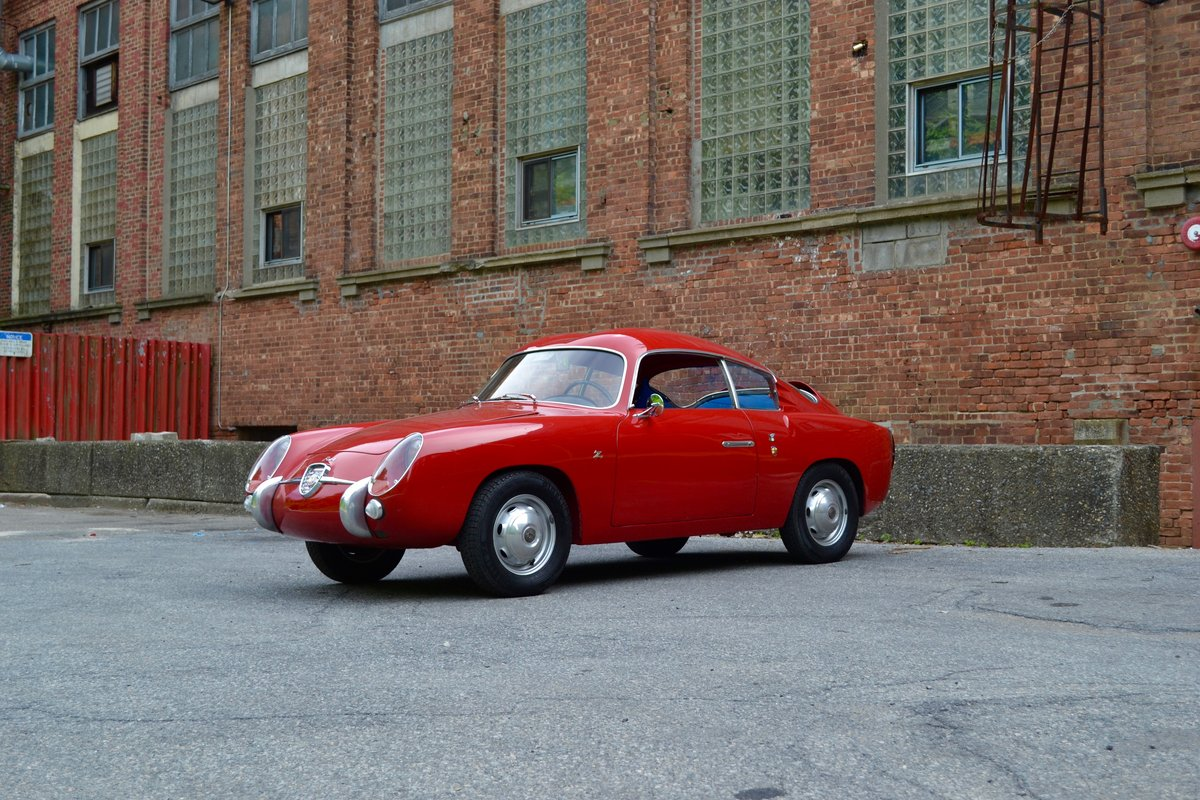 1959 Abarth 750 GT Zagato Double Bubble SOLD (picture 1 of 6)