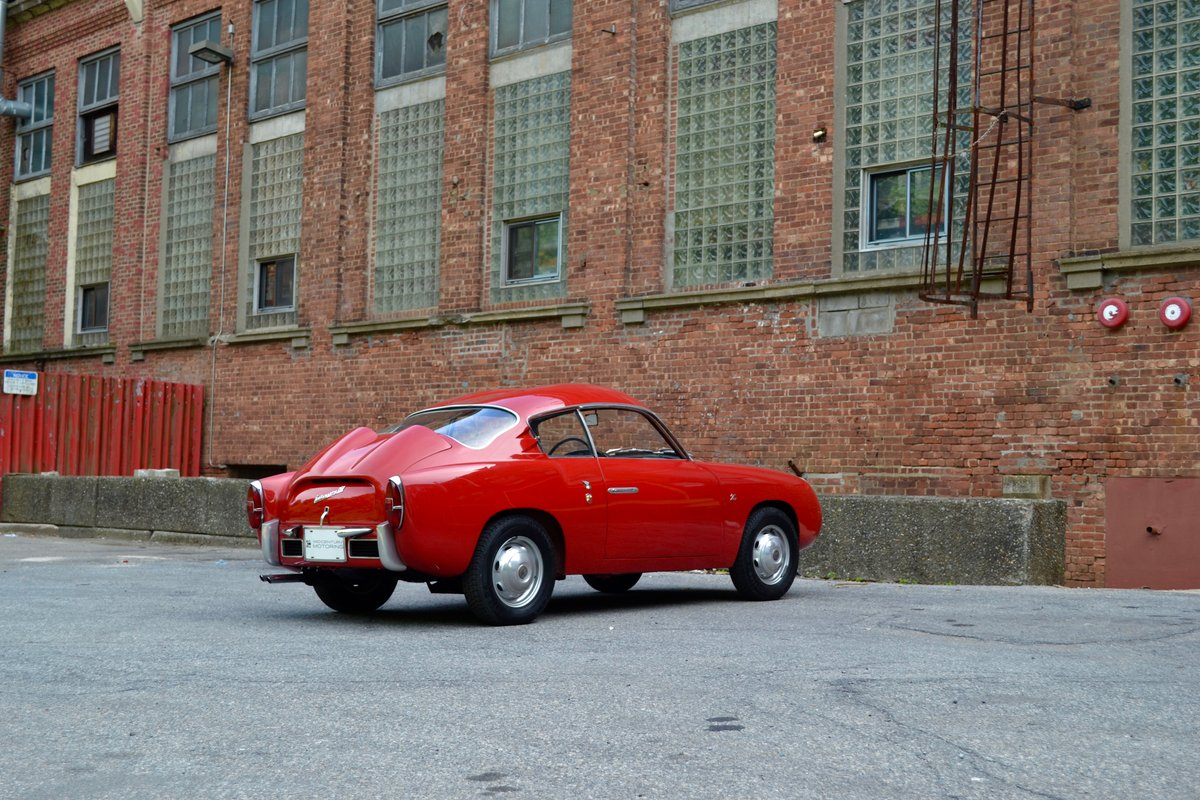1959 Abarth 750 GT Zagato Double Bubble SOLD (picture 2 of 6)