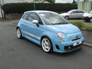 2013  13-reg Abarth 500 135bhp manual in blue