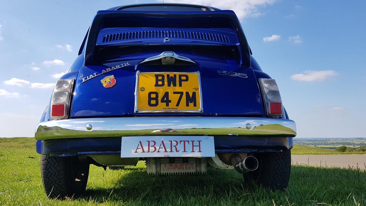 1973 Abarth 595 Replica, Tribute, Recreation For Sale (picture 3 of 6)