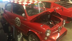 Extremely rare RHD 1963 Abarth 1000TC Recreation