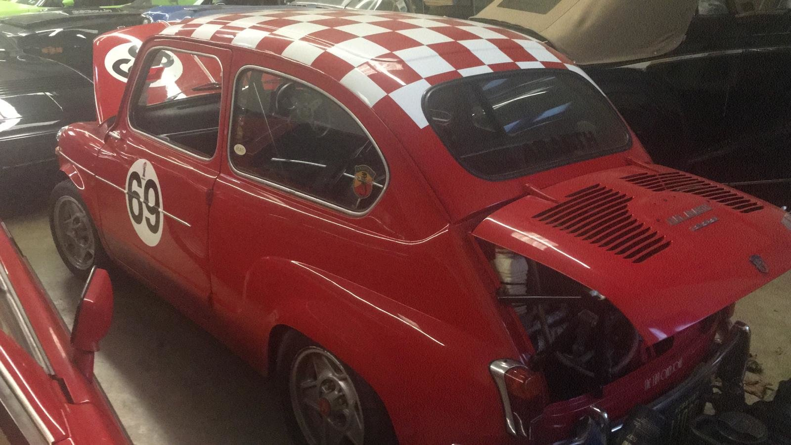 Extremely rare RHD 1963 Abarth 1000TC Recreation  For Sale (picture 3 of 6)