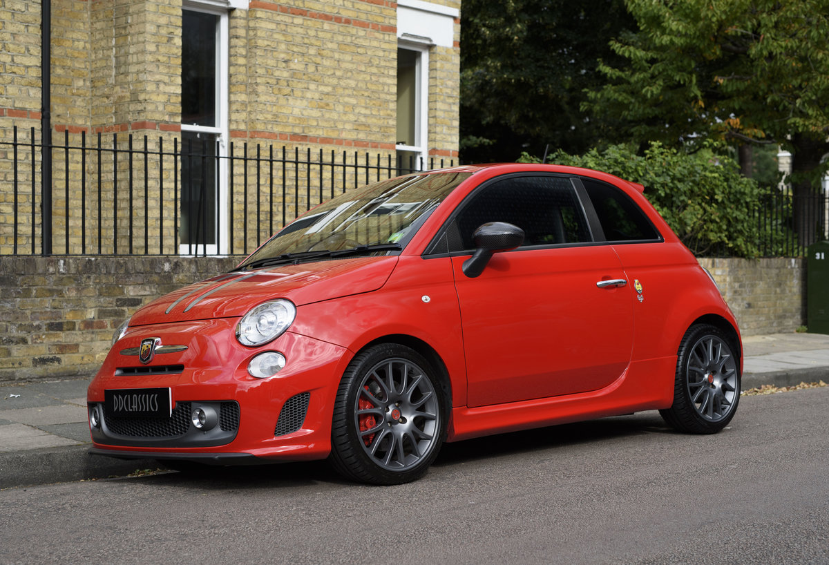 2011 Abarth 695 Tributo Ferrari For Sale In London (RHD) For Sale (picture 1 of 24)