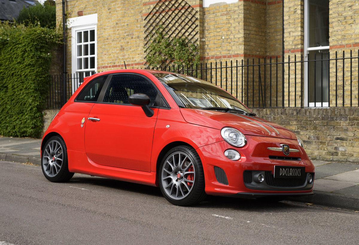 2011 Abarth 695 Tributo Ferrari For Sale In London (RHD) For Sale (picture 2 of 24)