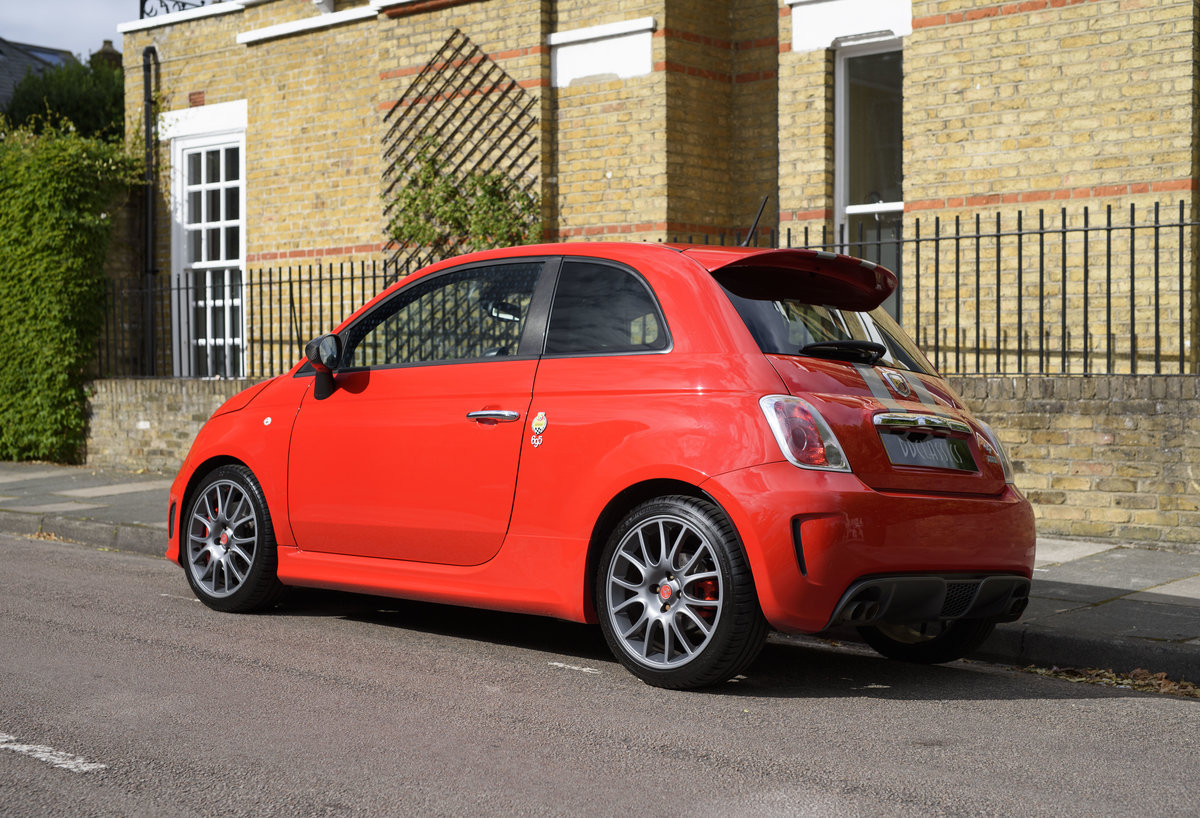 2011 Abarth 695 Tributo Ferrari For Sale In London (RHD) For Sale (picture 4 of 24)