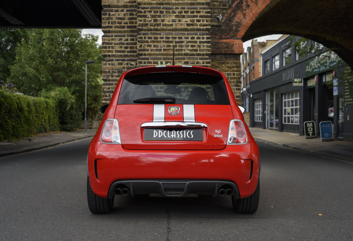 2011 Abarth 695 Tributo Ferrari For Sale In London (RHD) For Sale (picture 6 of 24)