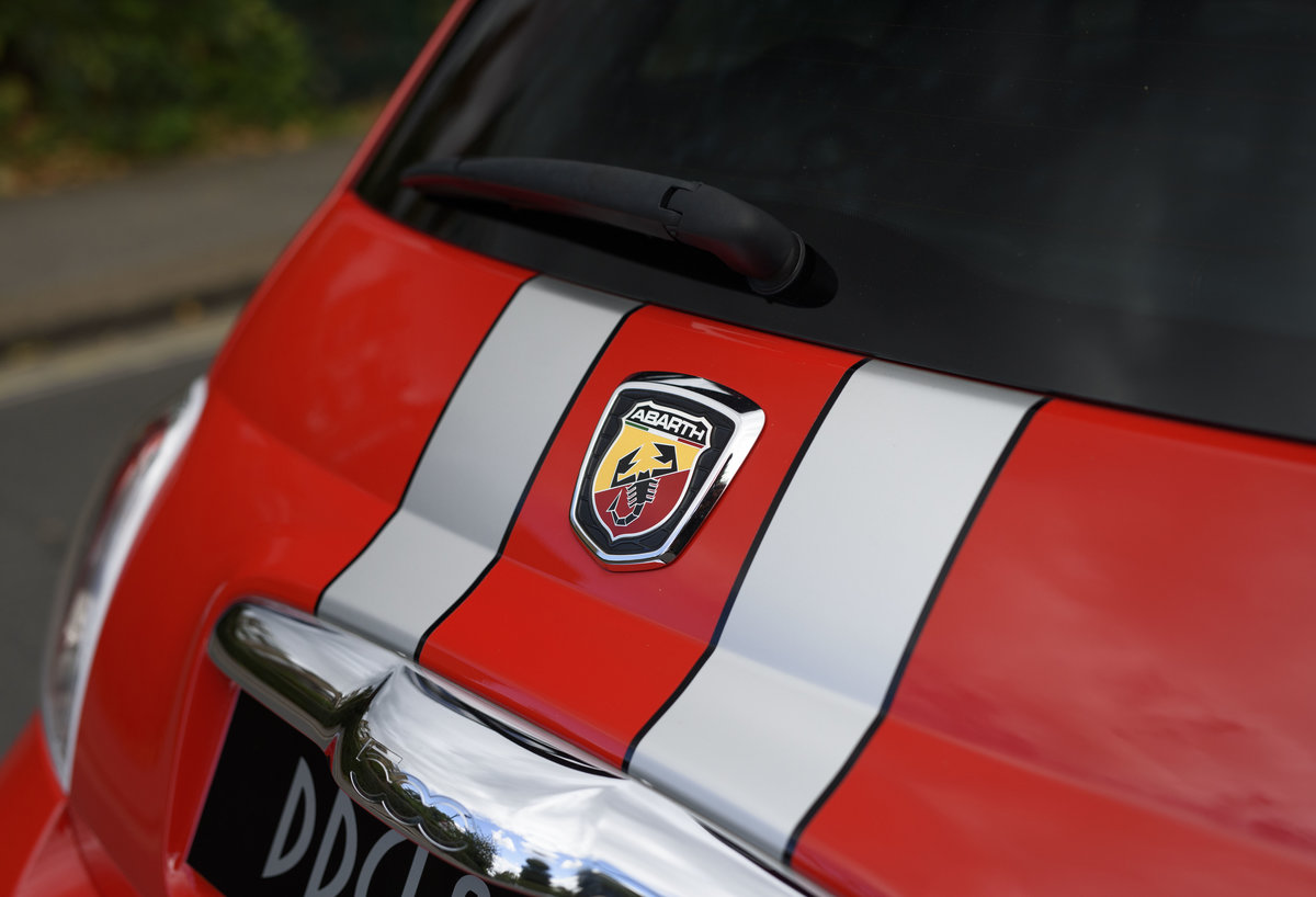 2011 Abarth 695 Tributo Ferrari For Sale In London (RHD) For Sale (picture 9 of 24)