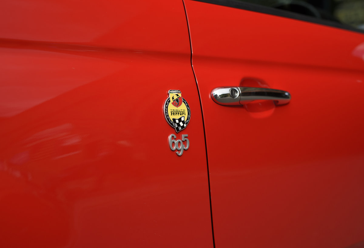 2011 Abarth 695 Tributo Ferrari For Sale In London (RHD) For Sale (picture 10 of 24)