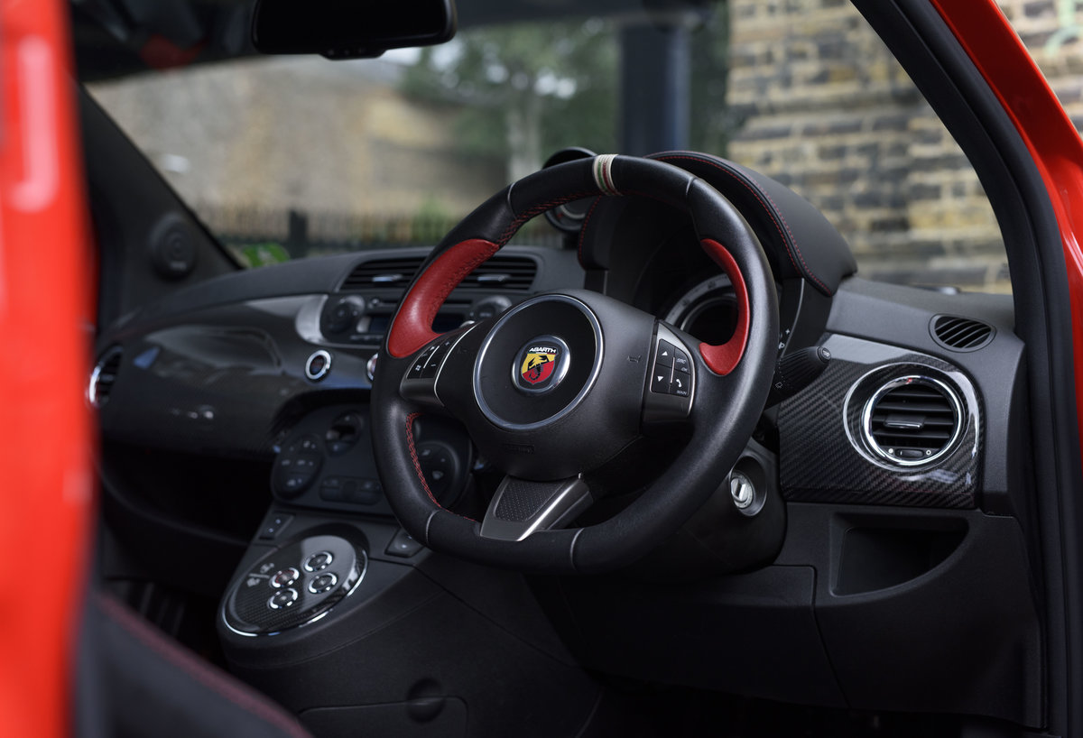2011 Abarth 695 Tributo Ferrari For Sale In London (RHD) For Sale (picture 12 of 24)