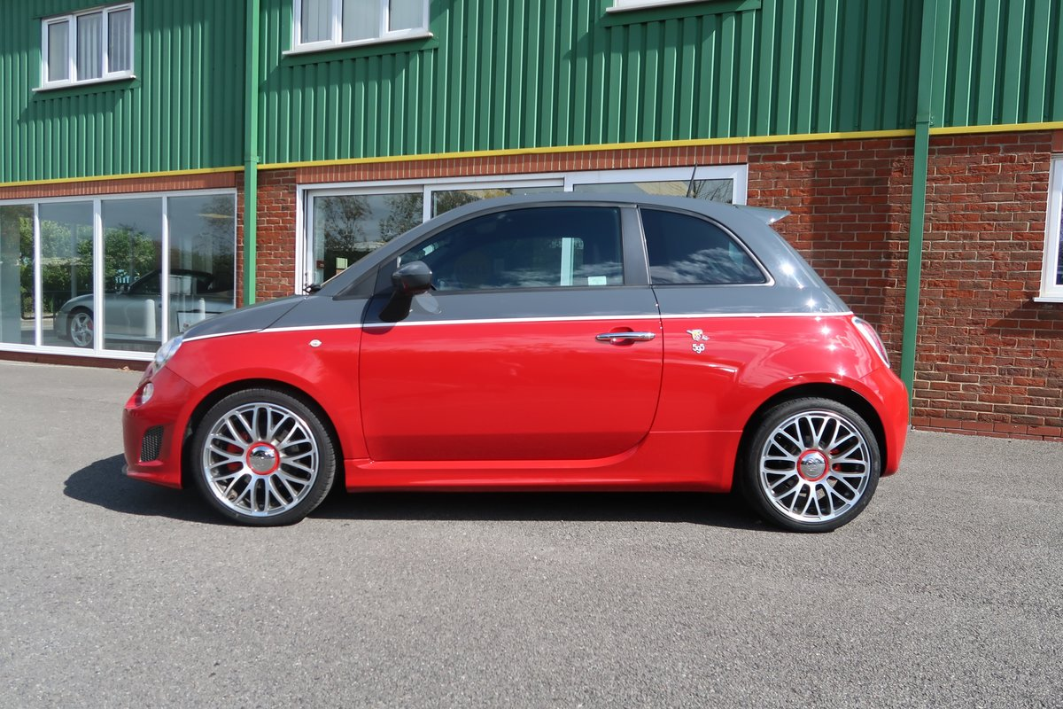 2013 595 Turismo 1.4 T-Jet (160BHP) ONE OWNER - LOW MILEAGE SOLD (picture 1 of 6)