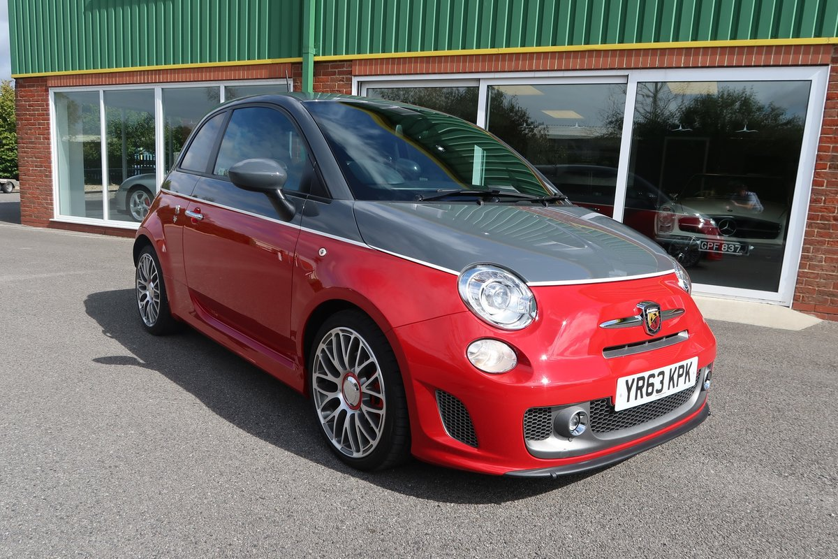 2013 595 Turismo 1.4 T-Jet (160BHP) ONE OWNER - LOW MILEAGE SOLD (picture 2 of 6)
