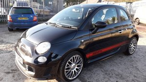 2015 ABARTH FIAT 500 FSH MET BLACK