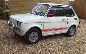 1994 Fiat 126 Abarth Head Turner For Sale