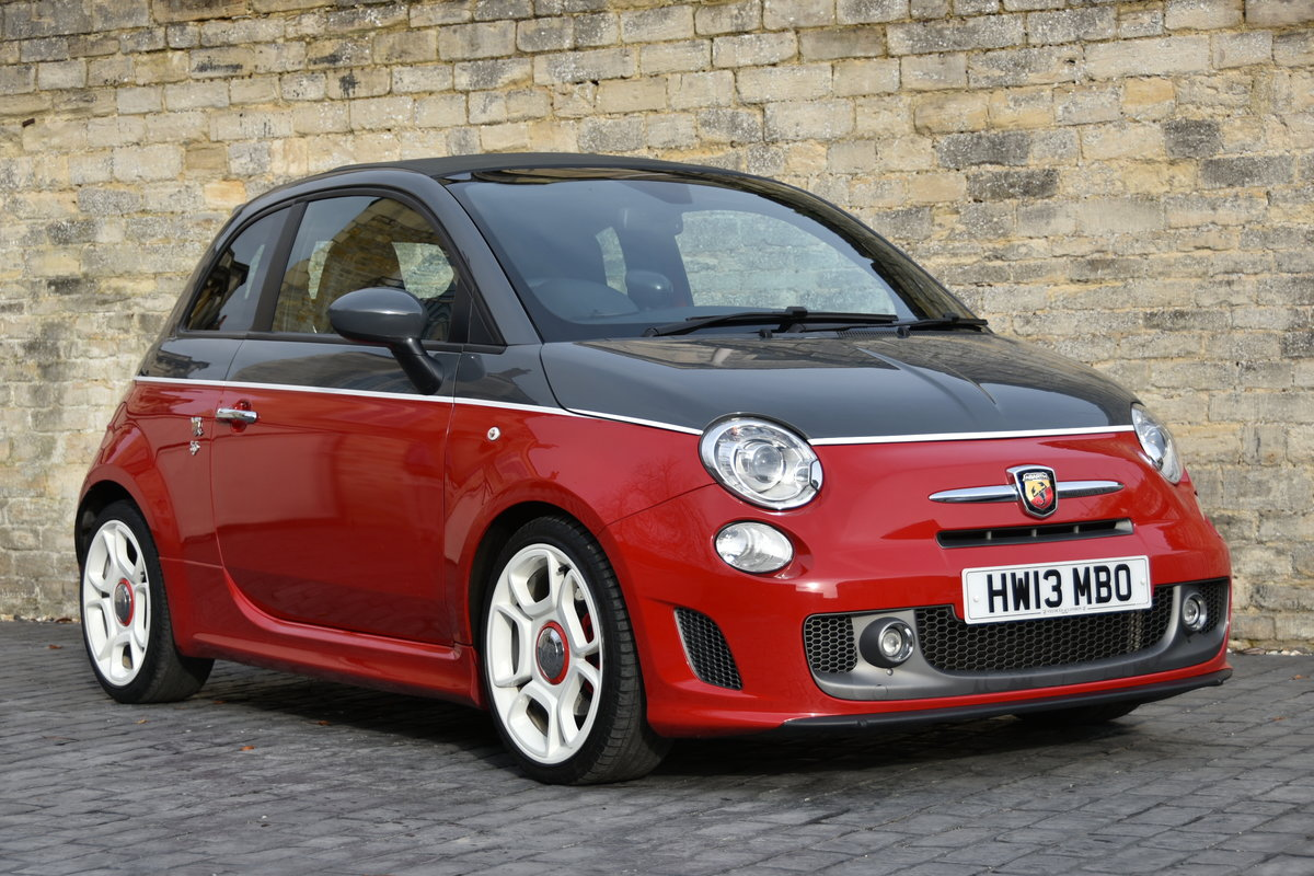 2013 ABARTH 595C TURISMO STUNNING For Sale (picture 1 of 6)