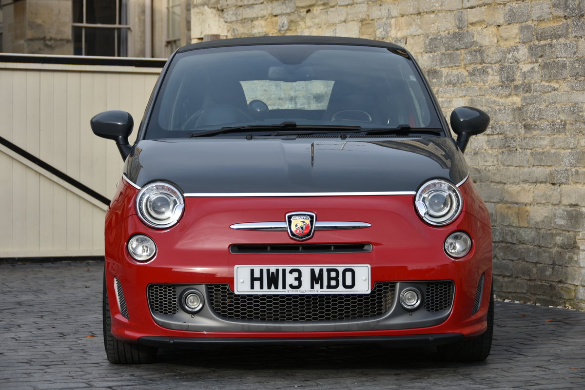 2013 ABARTH 595C TURISMO STUNNING For Sale (picture 2 of 6)