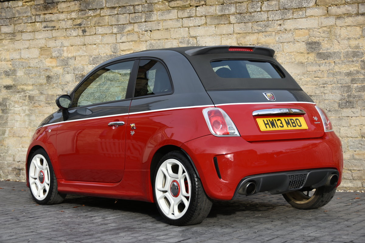 2013 ABARTH 595C TURISMO STUNNING For Sale (picture 4 of 6)