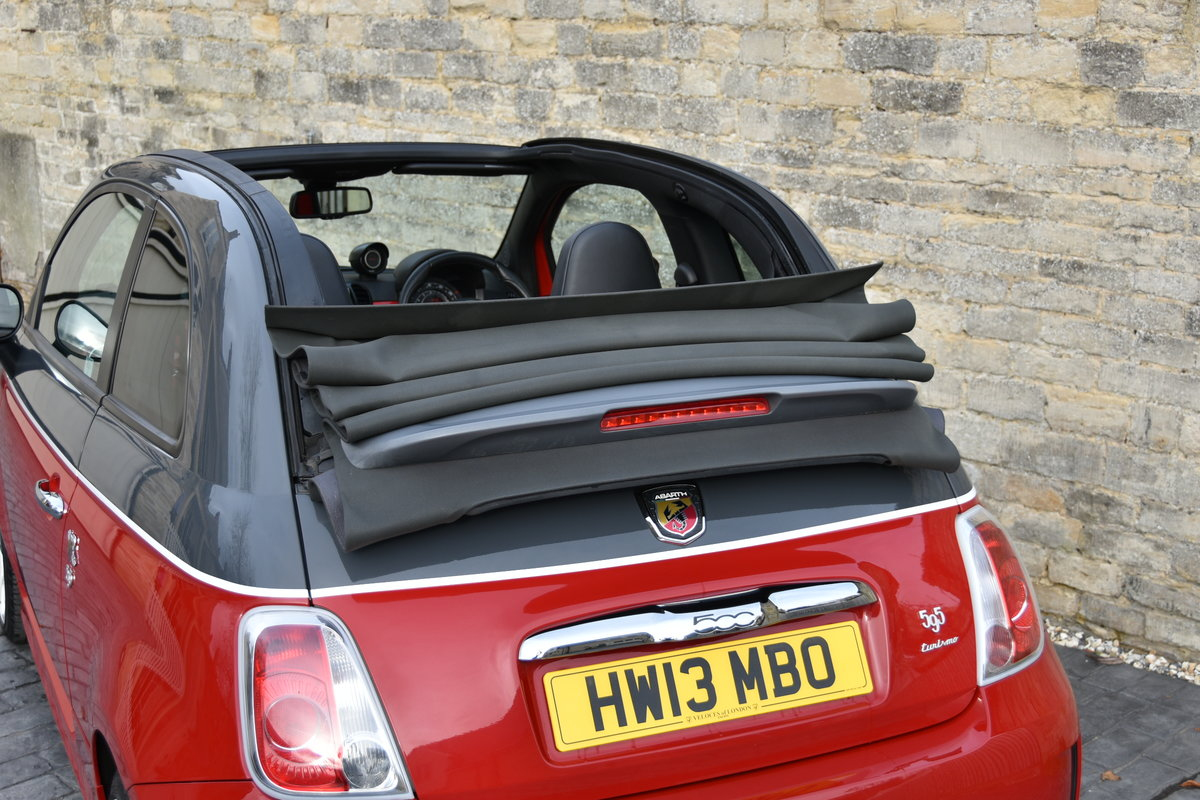 2013 ABARTH 595C TURISMO STUNNING For Sale (picture 6 of 6)