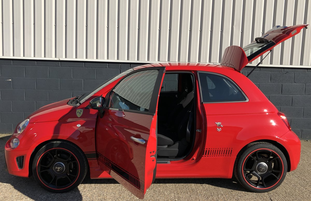 2018 Abarth 595 TROFEO SOLD (picture 4 of 6)