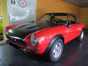 1973 Better then new, 124 Spider Abarth full restored