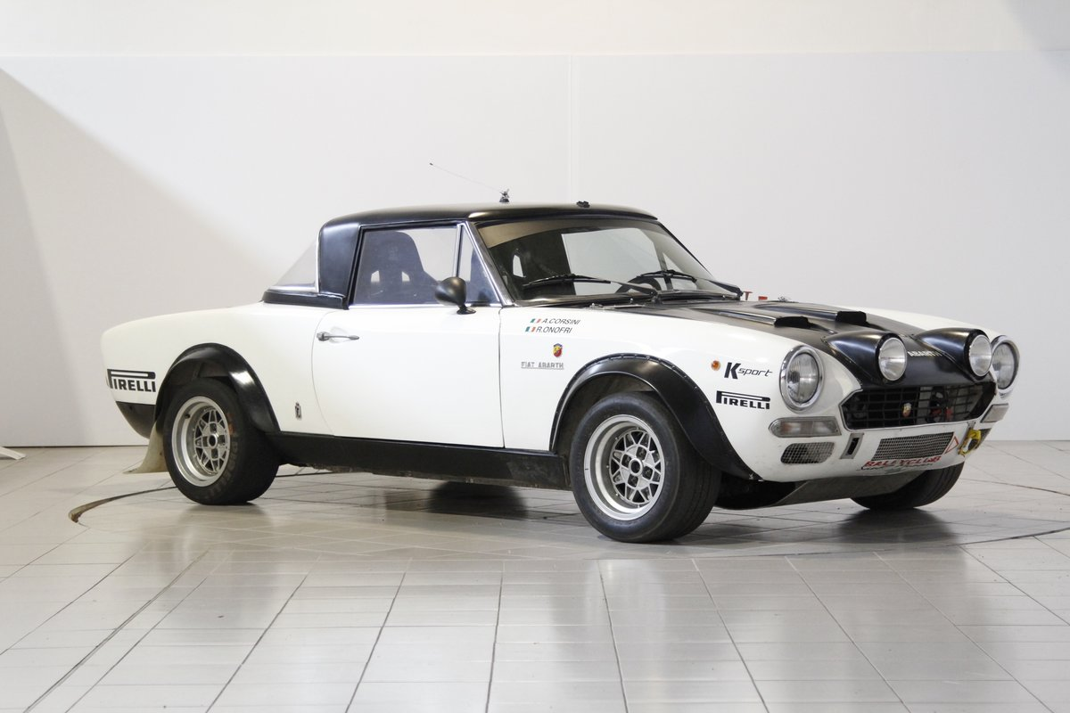 1973 Fiat Abarth 124 Rally Group 4 For Sale (picture 1 of 6)