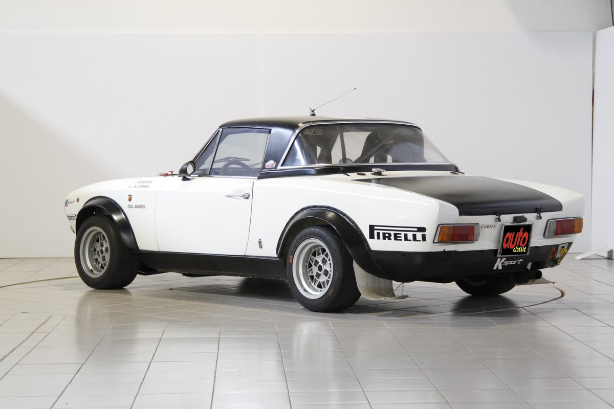 1973 Fiat Abarth 124 Rally Group 4 For Sale (picture 5 of 6)