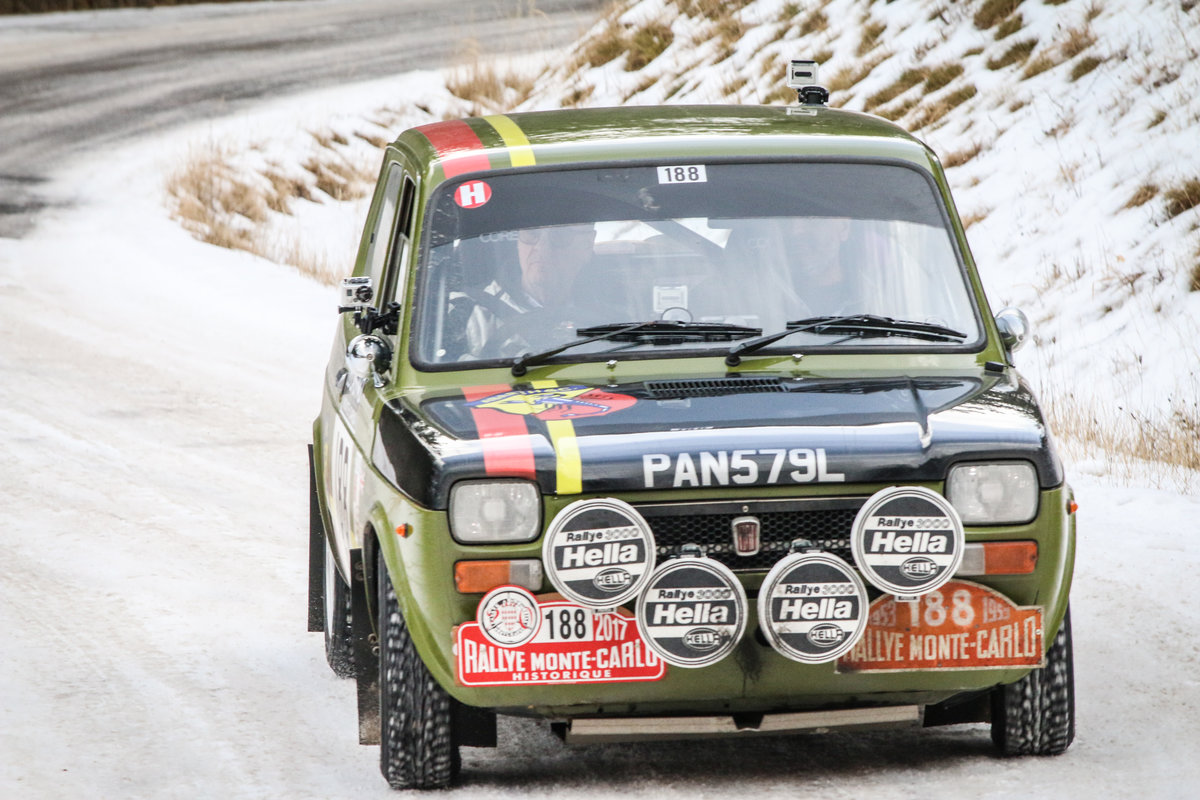 1972 Abarth 127 Regularity Rally car Ex Monte Historic For Sale (picture 1 of 6)