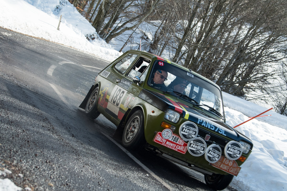 1972 Abarth 127 Regularity Rally car Ex Monte Historic For Sale (picture 2 of 6)