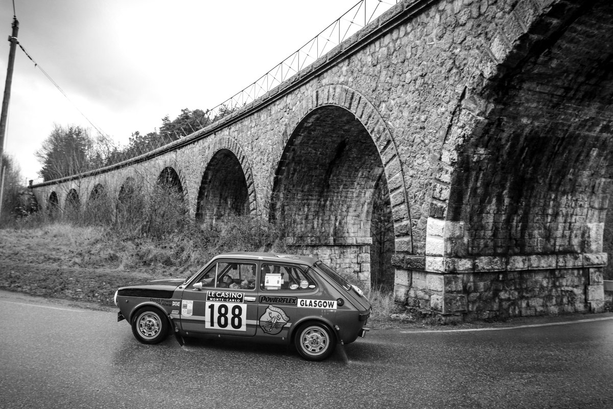 1972 Abarth 127 Regularity Rally car Ex Monte Historic For Sale (picture 3 of 6)
